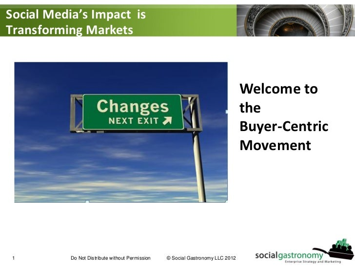 Welcome to the Buyer-Centric Movement