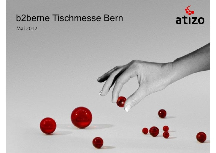 b2berne Tischmesse BernMai 2012