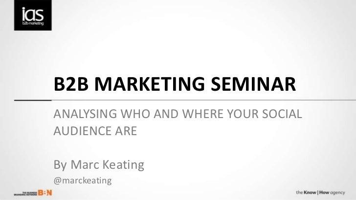B2B social media marketing - Taking it to the next level