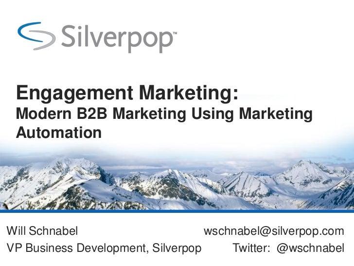 B2B Marketing Automation Techniques