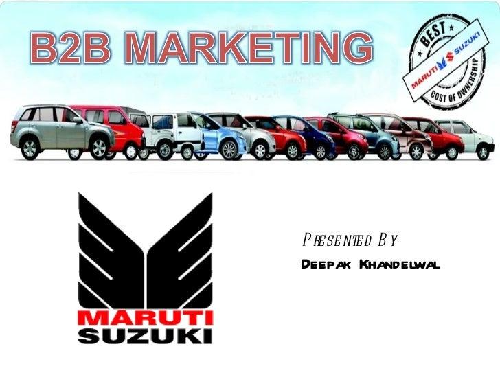 business level strategy of maruti suzuki essay