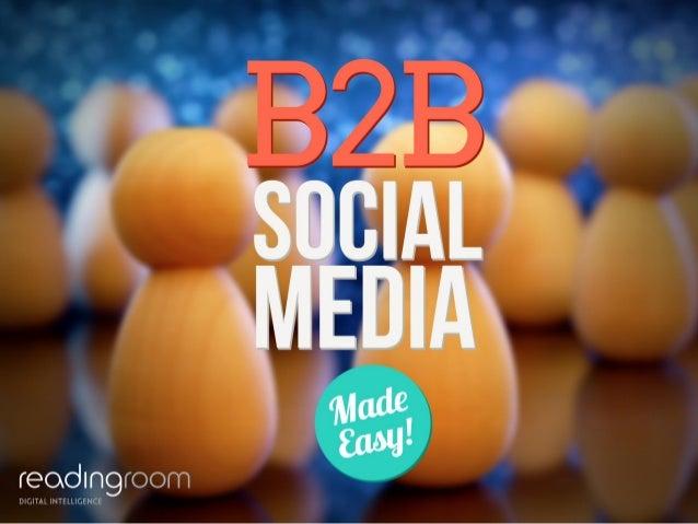 B2B Social Media Made Easy