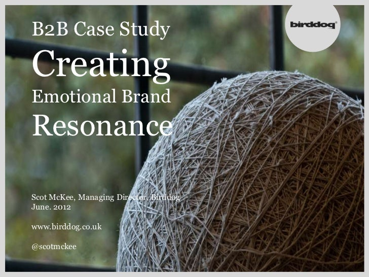 B2b summit creating emotional brands130612