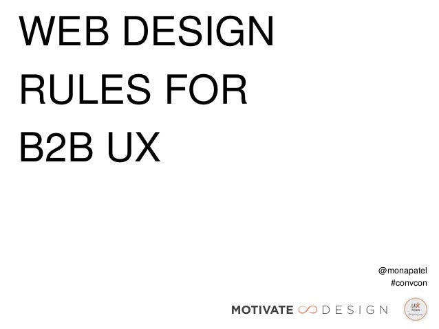 Web Design Rules for B2B UX