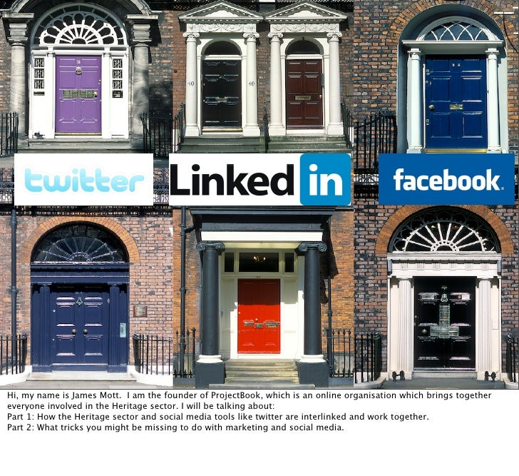 Social Media for the Heritage Sector?!                               + Are you missing a trick?               Social      ...