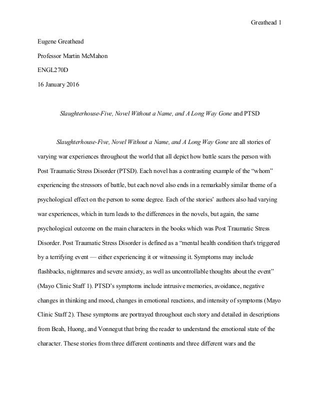 Argumentative essay about military service