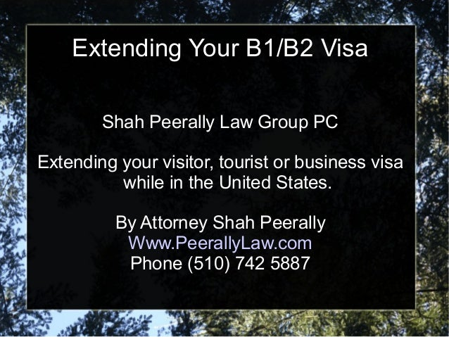 How to Get Your B1 Business Visa Extended