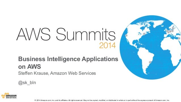 B3 - Business intelligence apps on aws