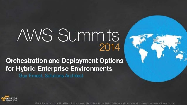 AWS Summit Stockholm 2014 – B3 – Integrating on-premises workloads with AWS