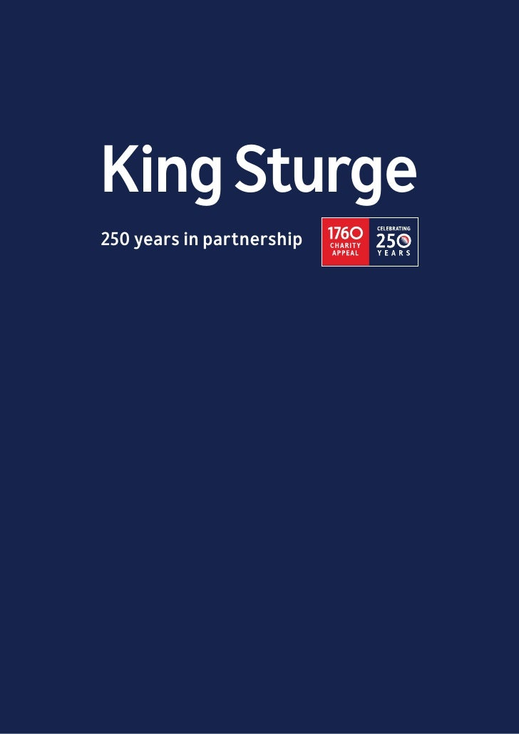 King Sturge - 250 years in the making