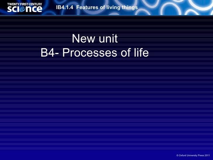 OCR-B4 01 living processes