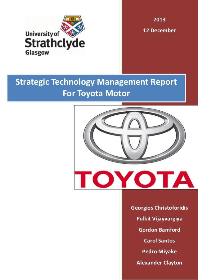 toyota strategic control A type of visual control that displays the the toyota production system organizes all jobs around human motion and creates (strategic planning.