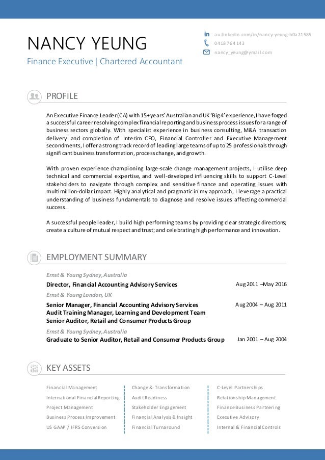 nancy yeung cv