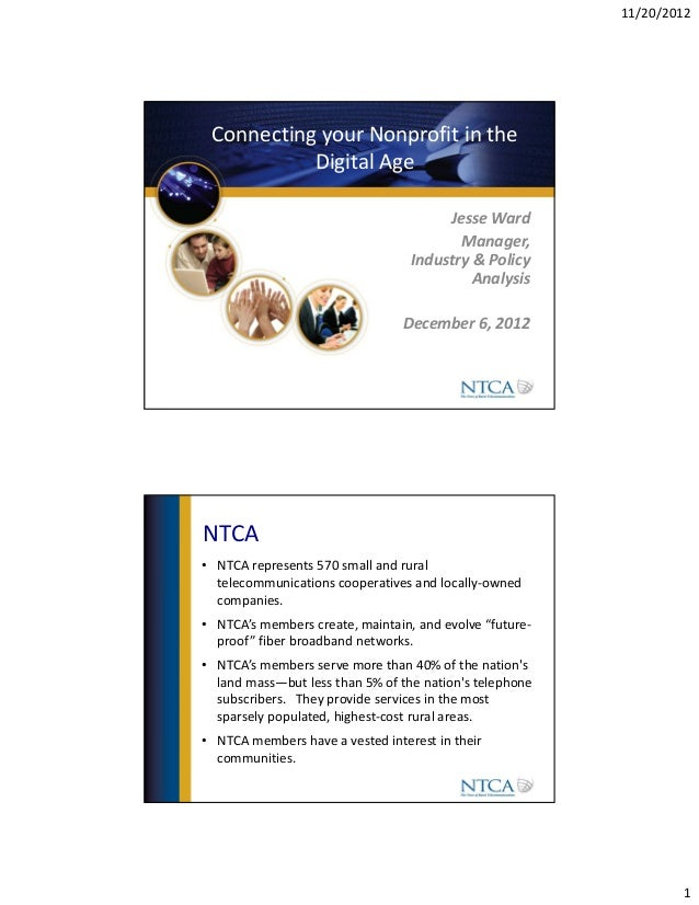 B4 connecting your non profit in the digital age   hand out - connecting your nonprofit