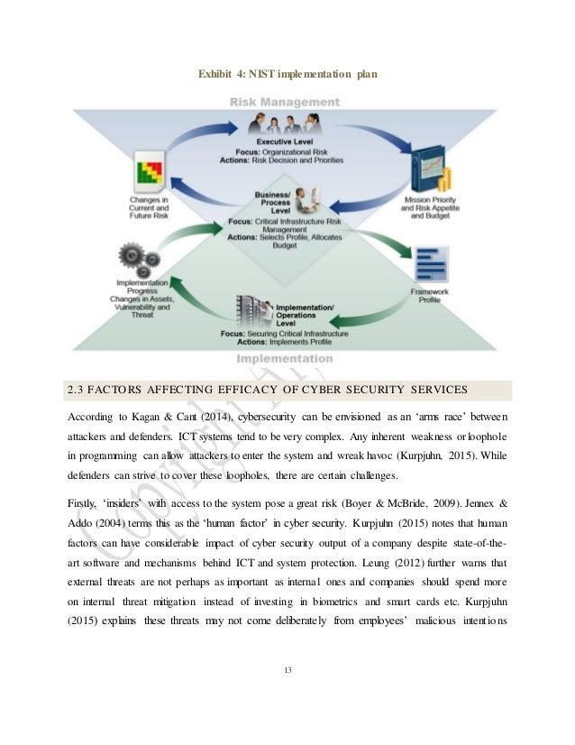 Risk management dissertation