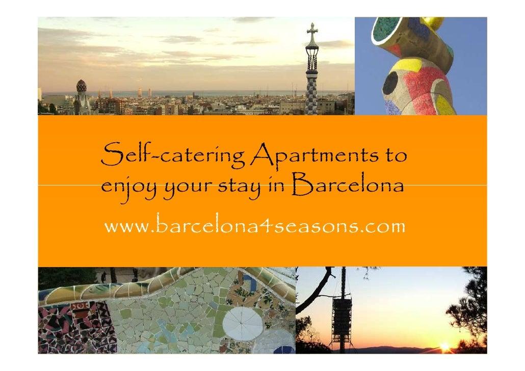 Barcelona4Seasons presentation