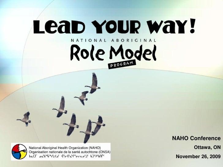 National Aboriginal Role Model Program