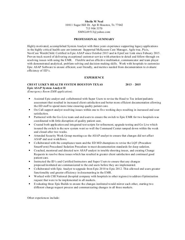 Resume For Emergency Room Clerk