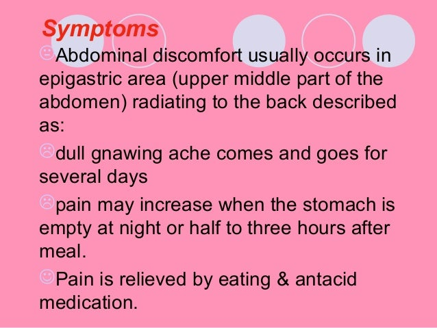 how to get rid of stomach ulcer pain