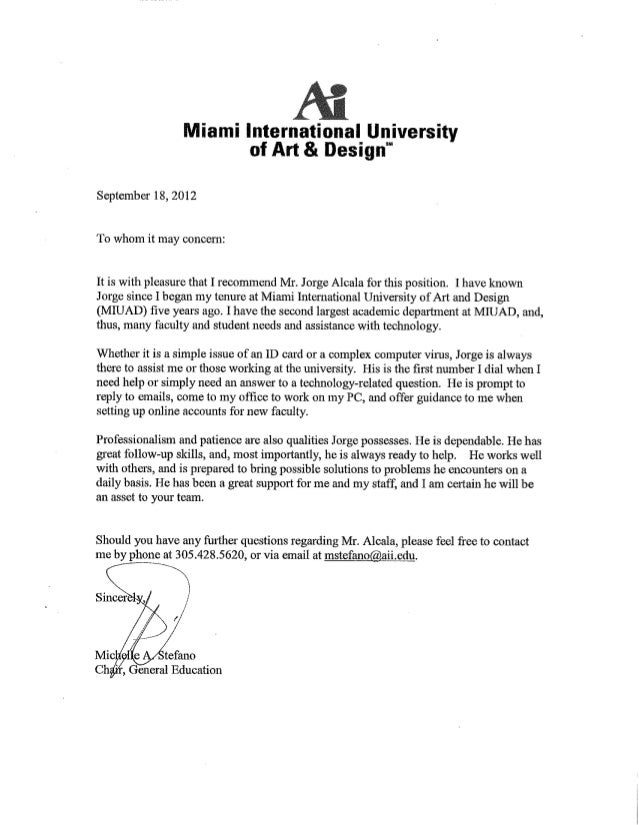Cover letter to whom it may concern or dear – To Whom It May Concern Sample Cover Letter