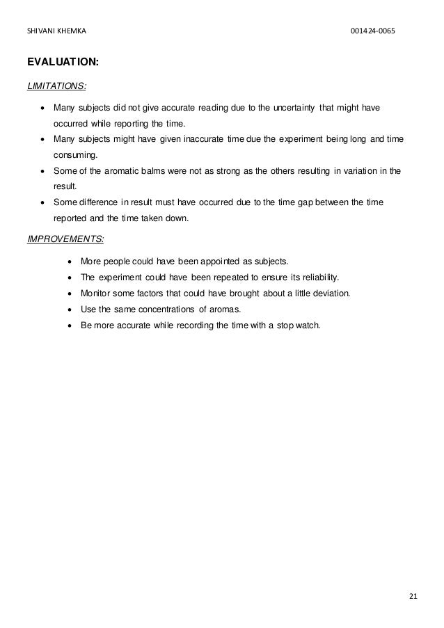 Biology subjects research paper