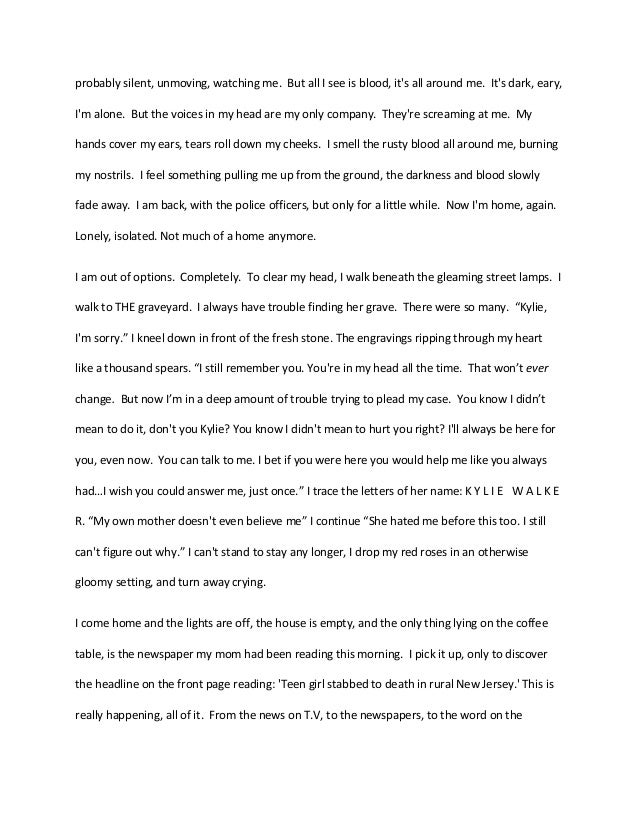 Creative writing short story essay samples