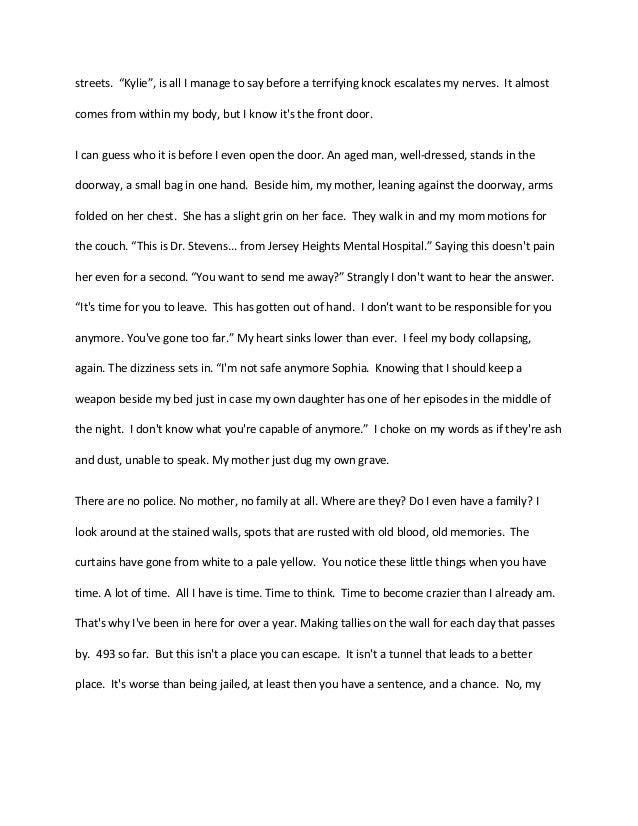 Creative writing story