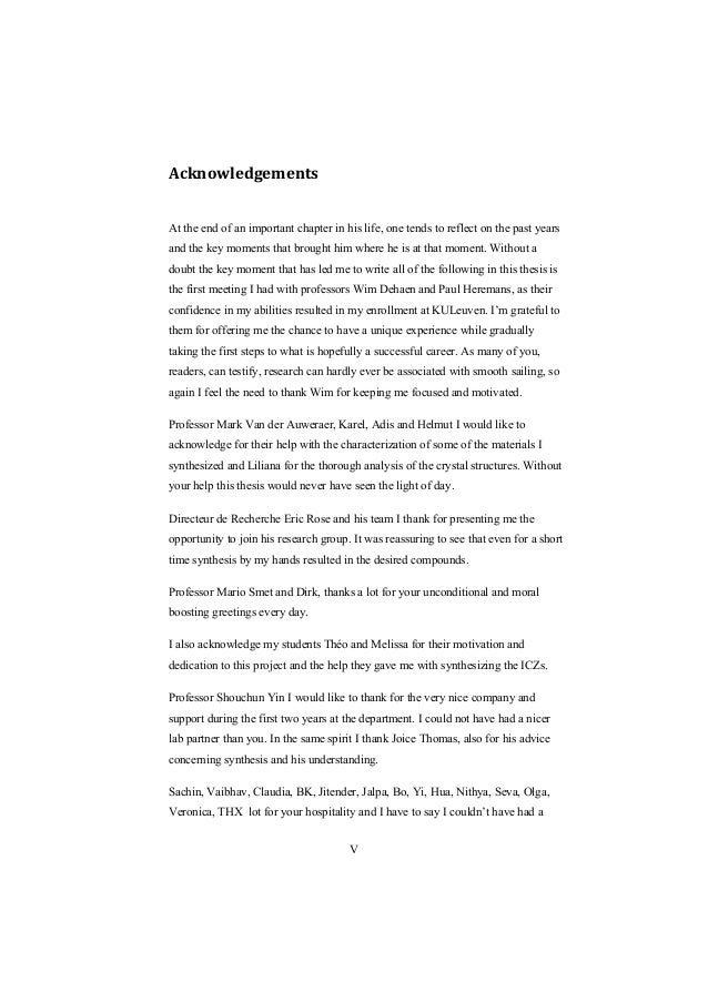 acknowledgement for enrollment thesis This thesis reports the findings of a thorough study to establish the factors that have led to the success of carli and how such success factors can be applied in.