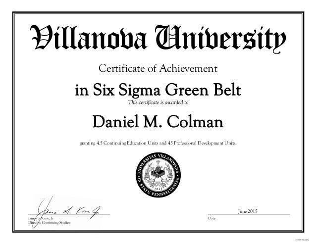Best Green Belt Certificate Template New Green Belt