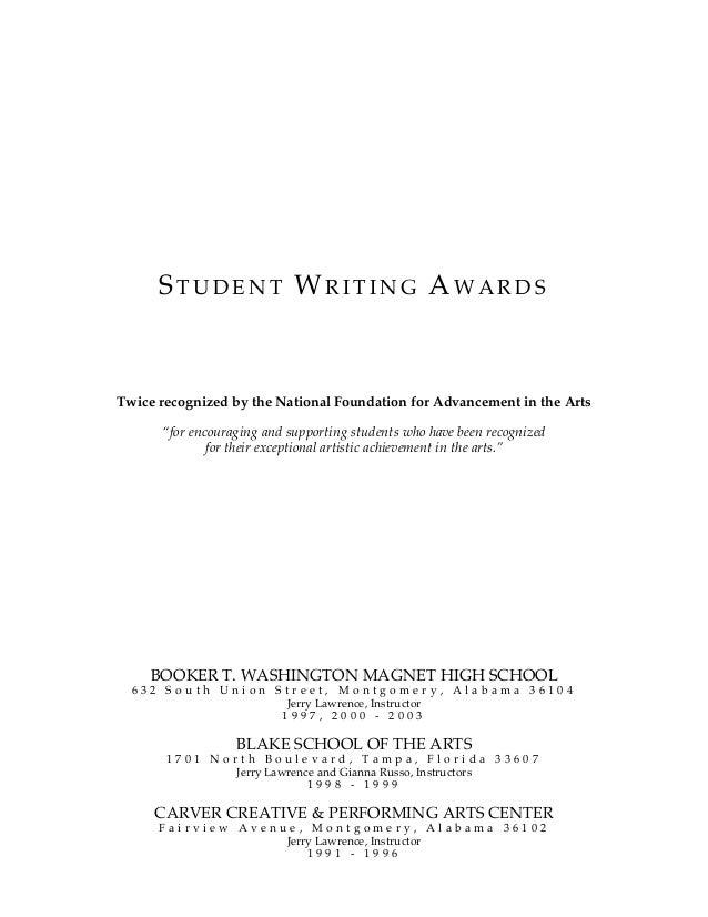 Arts Academy Boarding School: Creative Writing Major