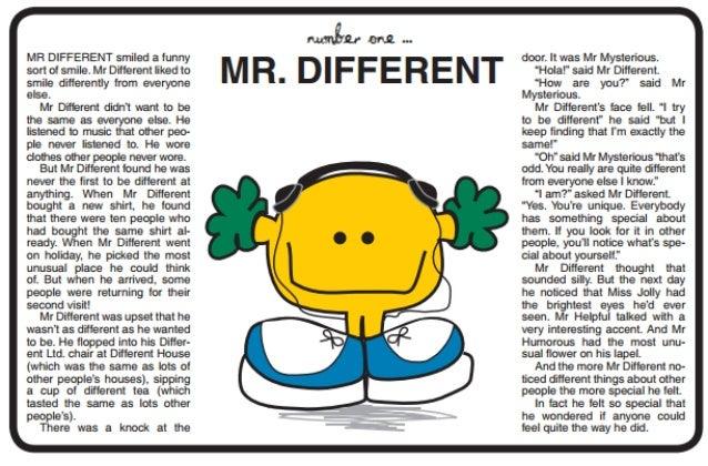 Spiritual Stories... Mr Different