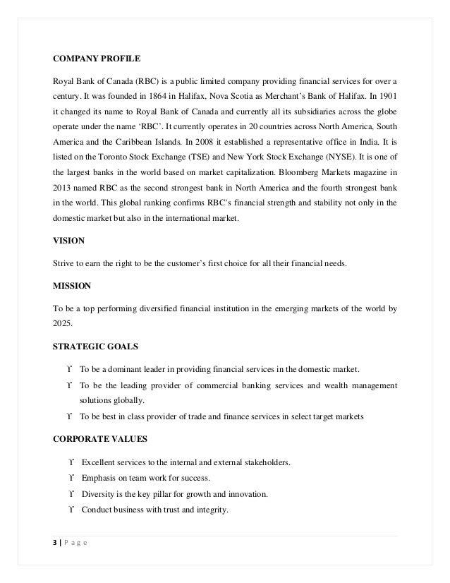 Rbc business plan