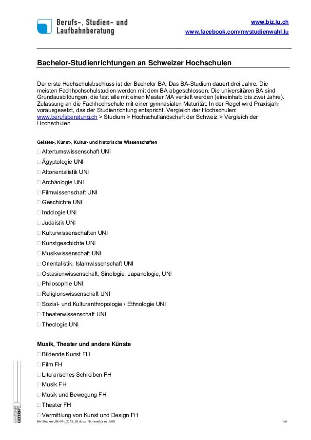 www.biz.lu.ch                                                           www.facebook.com/mystudienwahl.luBachelor-Studienr...