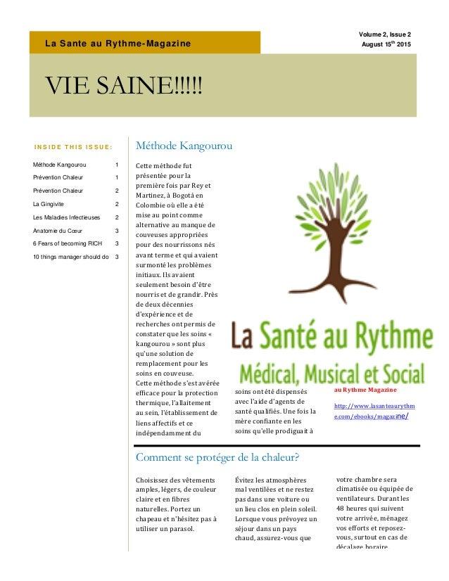 La Sante au Rythme-Magazine Cette méthode fut présentée pour la première fois par Rey et Martinez, à Bogotá en Colombie où...