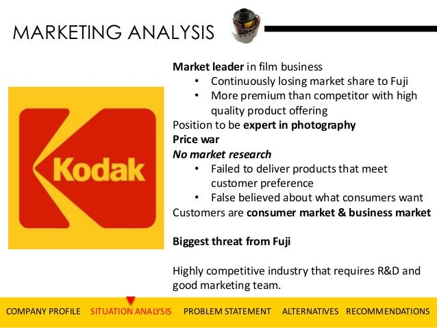 eastman kodak case study analysis Eastman kodak is in most certainty the story of an organization that has   kenneth andrews argue that the strategy analysis and formulation.