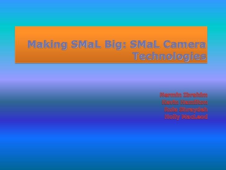 Ba401making Smal Big