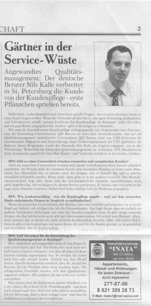 2003 St Petersburgische Zeitung