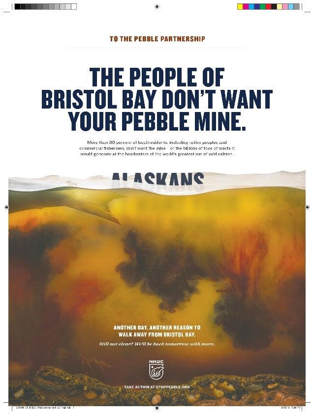 NRDC Pebblemine Ad