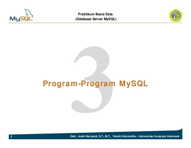 Bab 03-program-program my sql