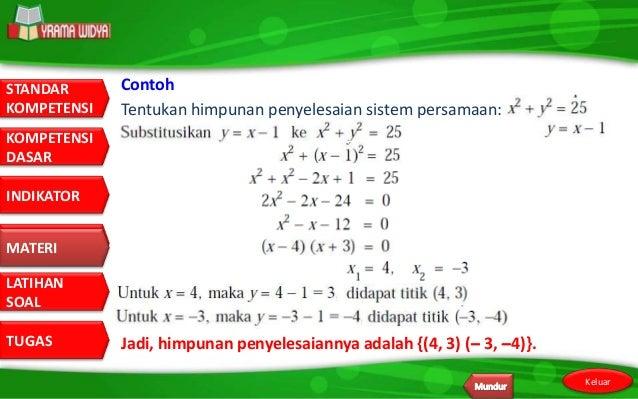 Contoh Soal Himpunan Gabungan Matematika Contoh Two