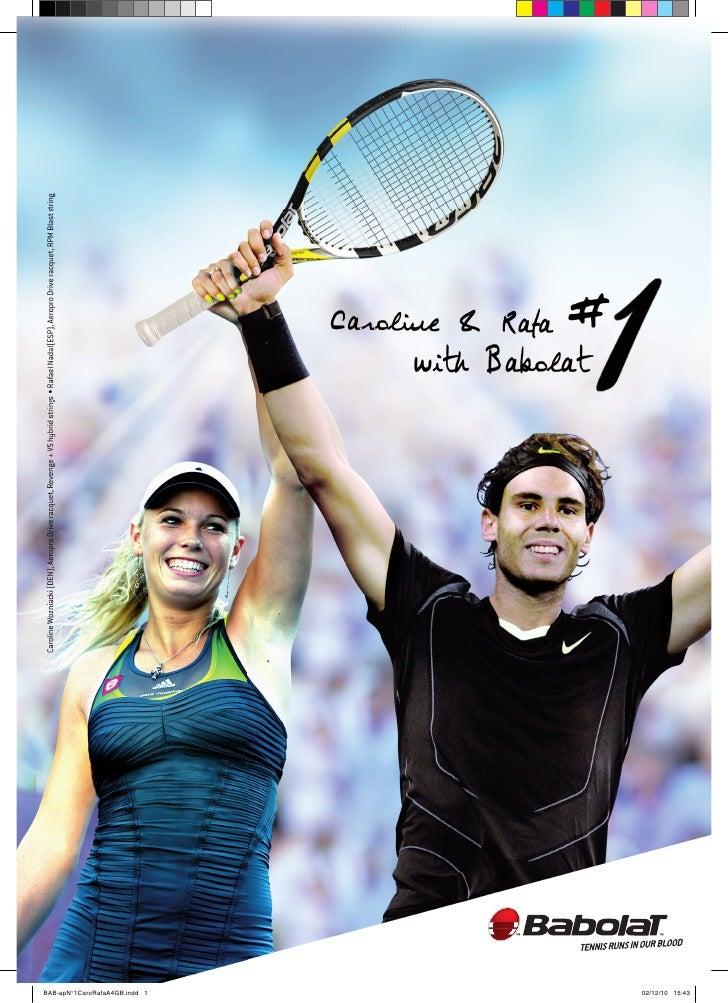Babolat Number 1 ATP and WTA