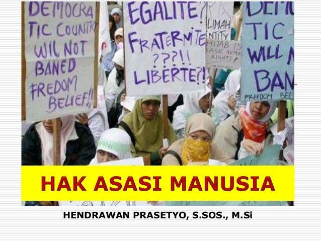 HENDRAWAN PRASETYO, S.SOS., M.Si