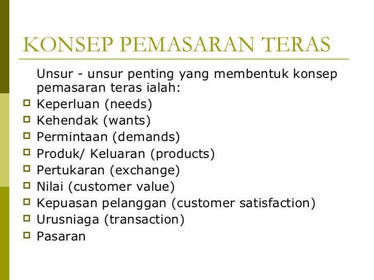 Konsep Kepuasan Pelanggan Kepuasan Pelanggan