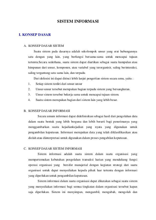 Bab 1 sistem informasi [new]
