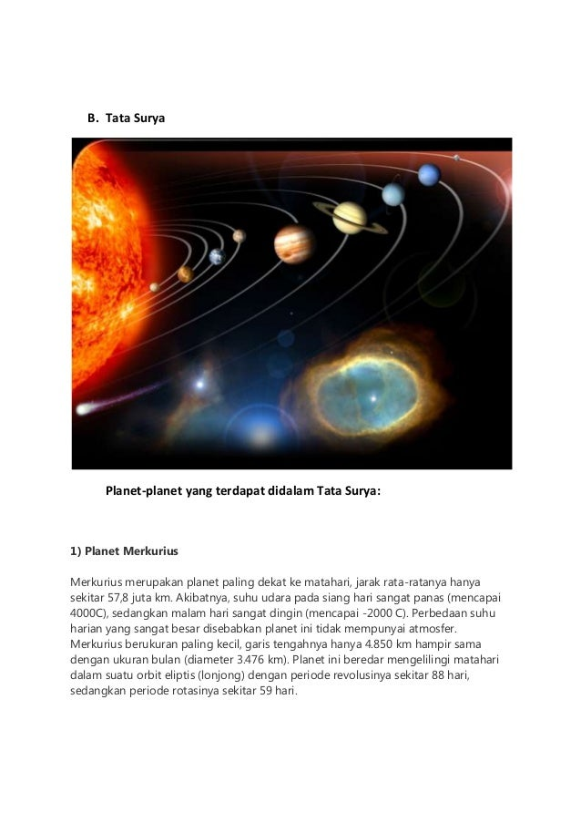 b Tata Surya Planet Planet