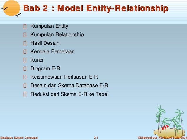 Bab2 model entity relationship