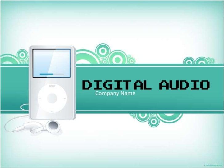 DIGITAL AUDIO Company Name