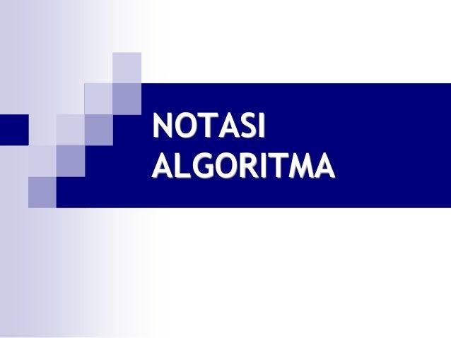NOTASIALGORITMA