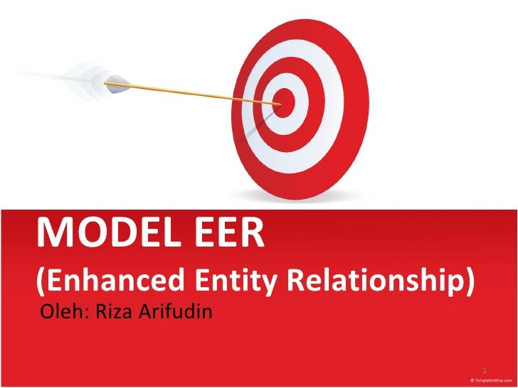 MODEL EER(Enhanced Entity Relationship)Oleh: Riza Arifudin                                 1