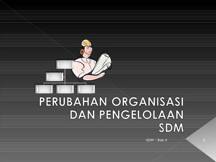 SDM - Bab 4